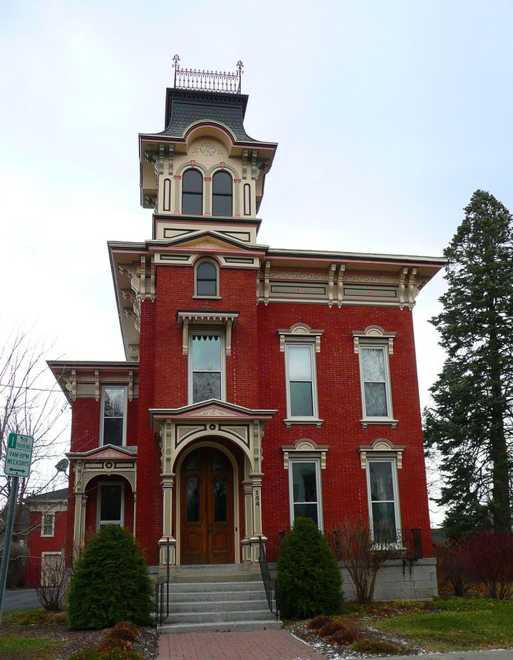 25 best italianate style images on pinterest dream homes for New victorian style homes