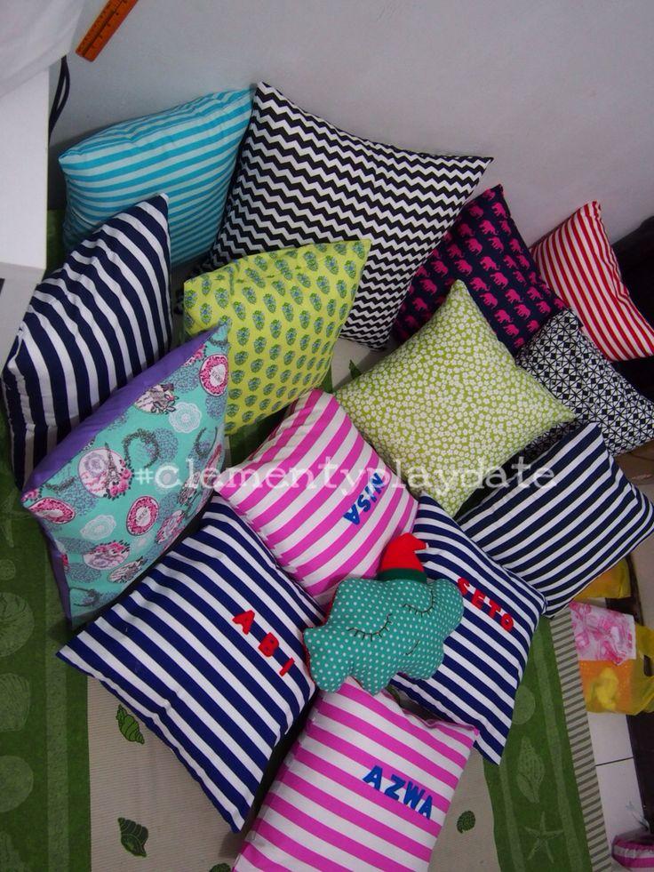 Full colour pillow  #handmade #diy #pillow #cushion #clementyplaydate