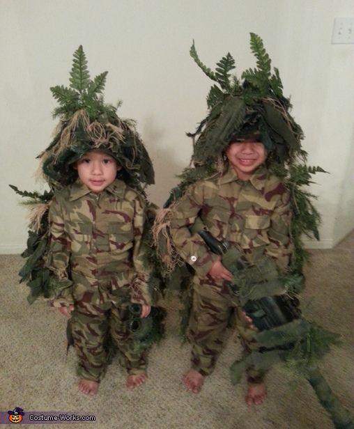 Young Sniper Team Costume   Halloween costumes, Halloween ...