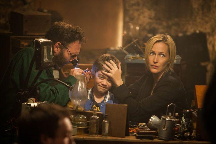 Donald (David McSavage) performs a delicate procedure on Connor (Milo Parker),