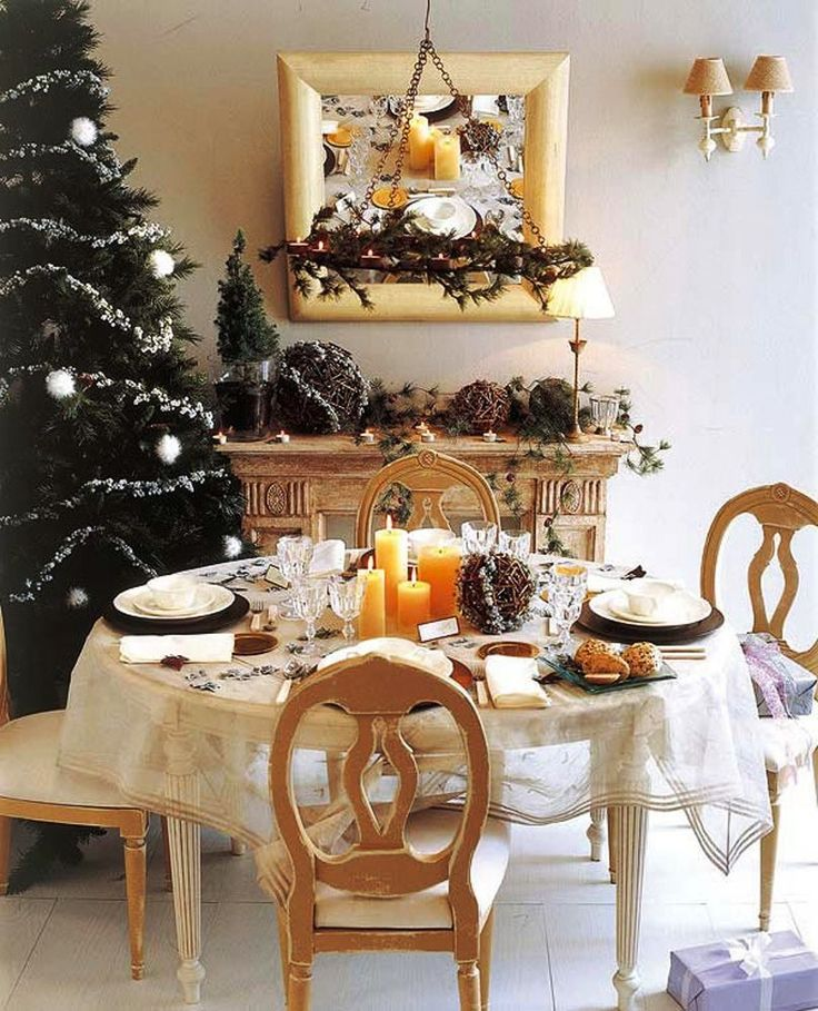 Christmas Decorating Ideas 2014 31 best christmas table decorations images on pinterest
