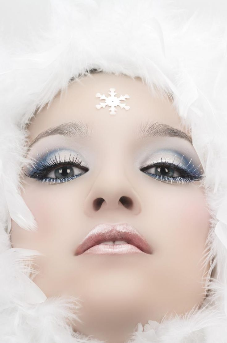 Winter Makeup I want to take a picture like this!