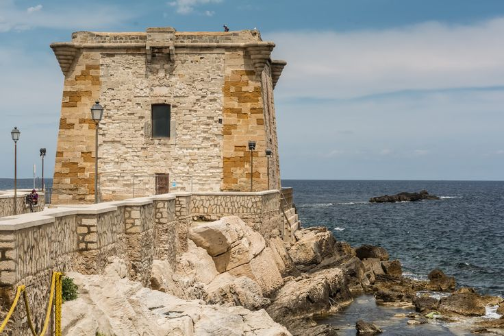An ancient military tower of 17th century between two seas, a museum, a  symbol of #Trapani town, the end of a suggestive walk along the ancient walls on the #sea. Have a look at www.bebtrapanilveliero.it