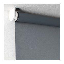 "TUPPLUR Blackout roller blind, gray - gray - 38x76 ¾ "" - IKEA"