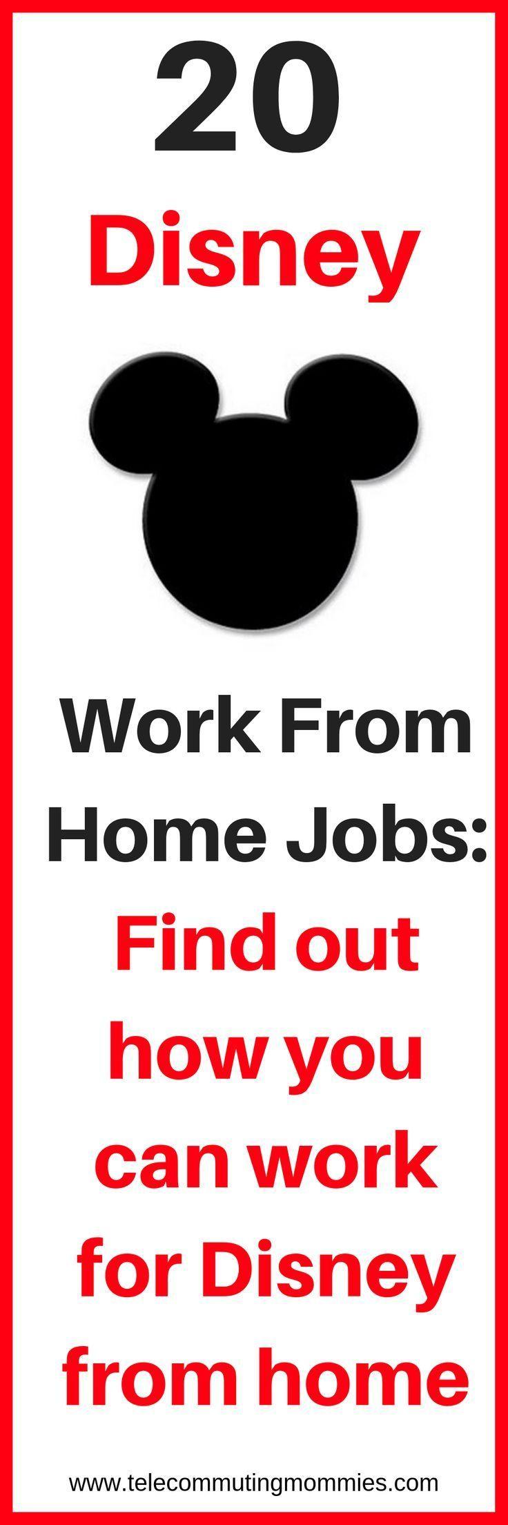Wie man von zu Hause aus für Disney arbeitet: 20 …
