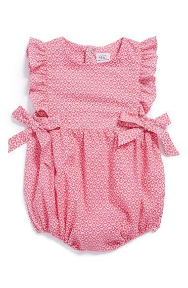 egg by susan lazar Cotton Bubble Romper (Baby Girls)   Nordstrom