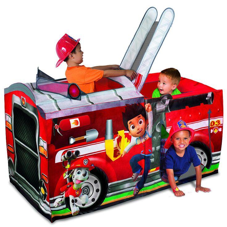 "PlayHut Paw Patrol Marshall Fire Truck Play Tent - PlayHut - Toys ""R"" Us"