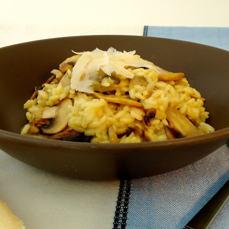 "#RecipeoftheDay: Mushroom Risotto by marie - ""I love risotto and this one is easy and very tasty too!"" - Melchris21"
