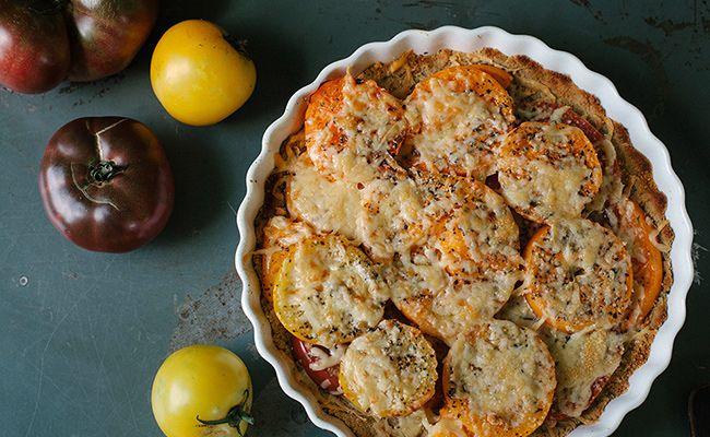 Savory Gluten-Free Tomato Tart Recipe   Tomato Tart Recipe, Tart ...