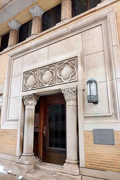 Isidore Heller House Prairie Style Frank Lloyd Wright Hyde Park Illinois