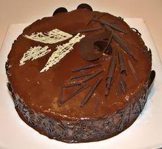 Через тернии к тортам: Шоколадно-банановый торт