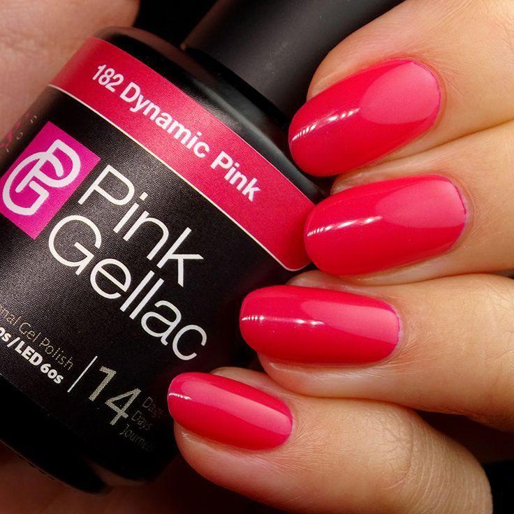 Gel Nagellack Farbe 182 Dynamic Pink Nagels Dynamic Farbe