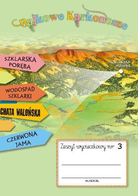 Zeszyt wycieczkowy nr 3 SZKLARSKA PORĘBA | Wydawnictwo Poligrafia AD-REM