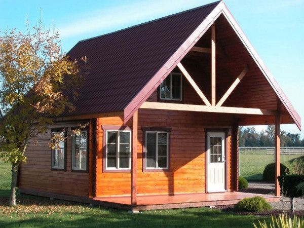 The 25 best ideas about cheap log cabin kits on pinterest for Cottage homes to build