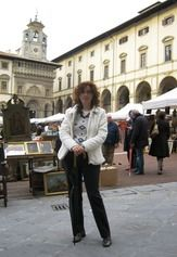 Arezzo while the monthly Antique Market is on.  www.tuscantoursandweddings.it