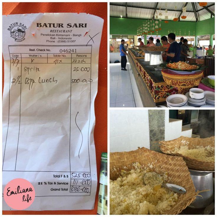 restaurante batur sari , Kintamani, Bali, Indonesia