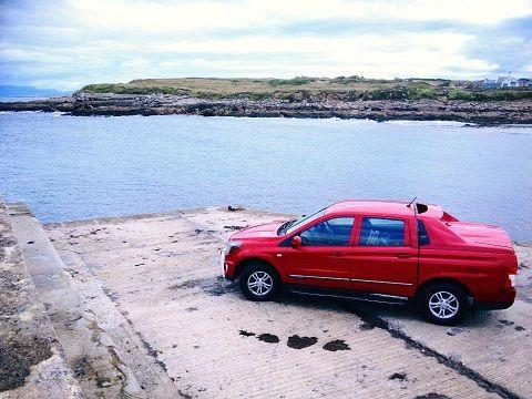 Korando Sport test drive
