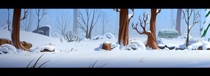 Harold Arctic dev BG 02 by cyrilcorallo on deviantART