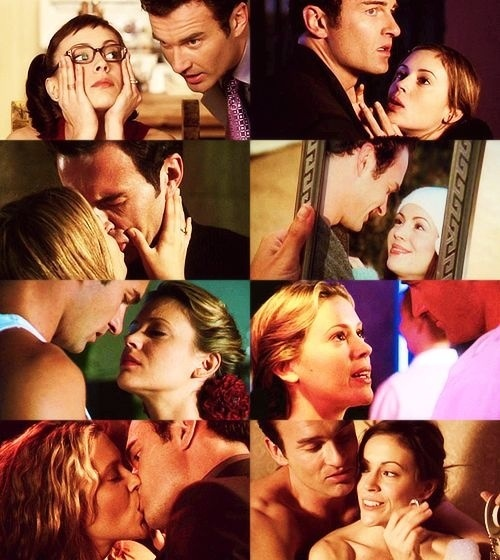 Phoebe & Cole <3 - Charmed. Not really a fan of the show but when I was 14, this was the one brightspot, although Cole even had chemistry with Prue.