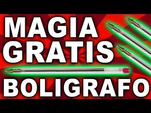 Trucos de magia revelado con bolígrafo