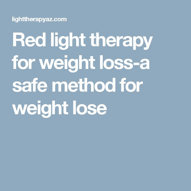 Red light therapy for weight loss-a safe method for weight lose