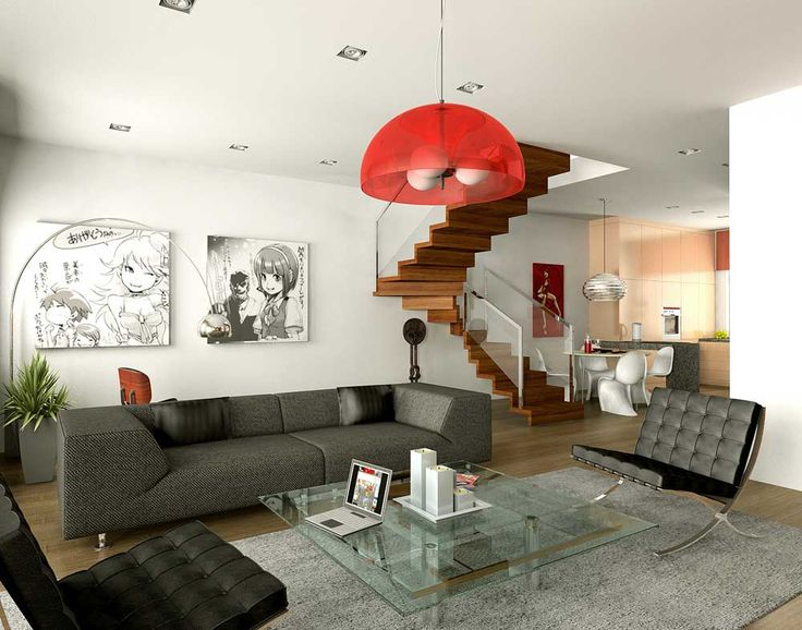 Staircase Ideas Living Room