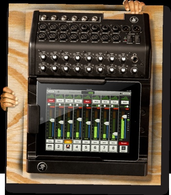 A new iPad based mixer from Mackie that I can't wait to try out
