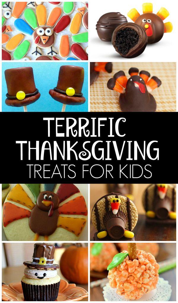 25 Terrific Thanksgiving Treats