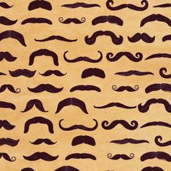 Moustache Gift Wrap   Paper Products Online