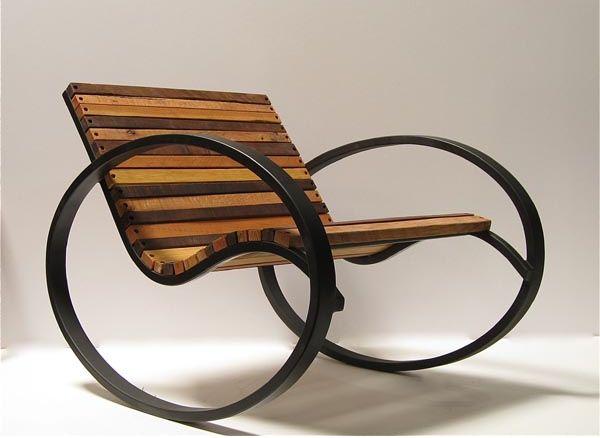 Originais Modelos de Cadeiras de Balanço | - Nesta aqui você terá que manter o equilíbrio para não virar uma cambalhota... Design e fotografia - TudoPorEmail