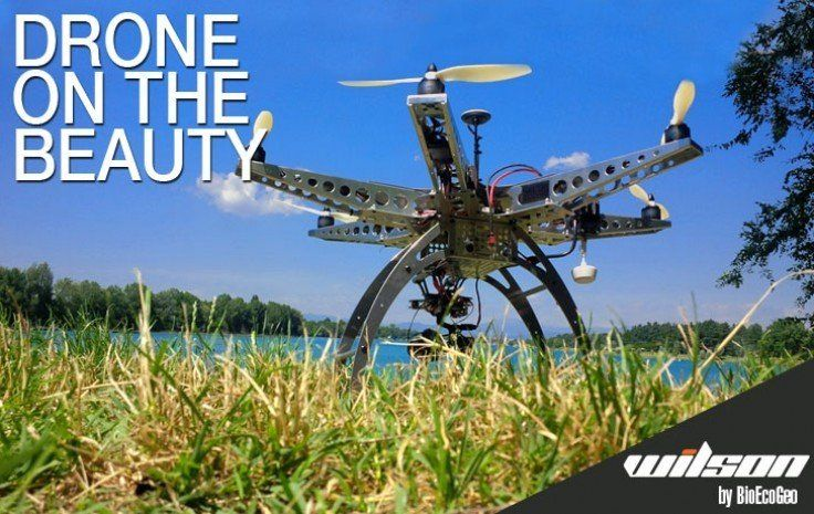 Drone on the beauty: il futuro e' nei droni  
