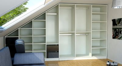 die besten 25 dachschr ge nutzen ideen auf pinterest einbauschrank f r dachschr ge stauraum. Black Bedroom Furniture Sets. Home Design Ideas