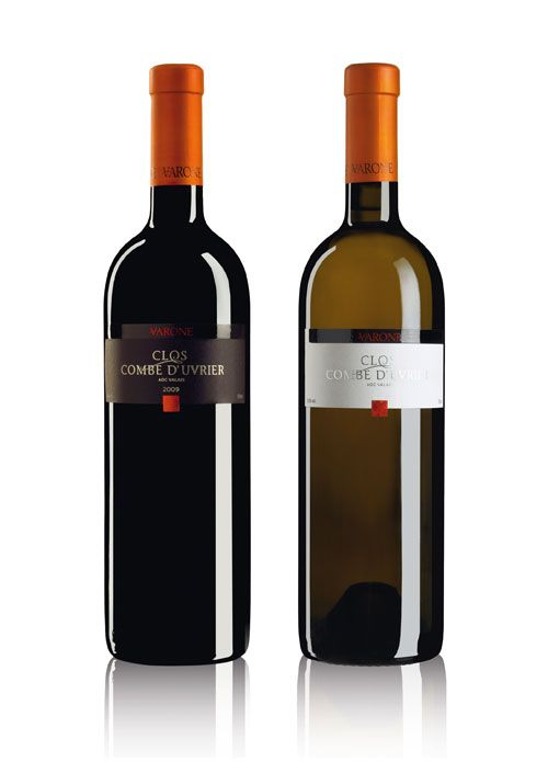 OCTANE communication | Varone Vins, Clos Combe d'Uvrier #wine #label #design #packaging
