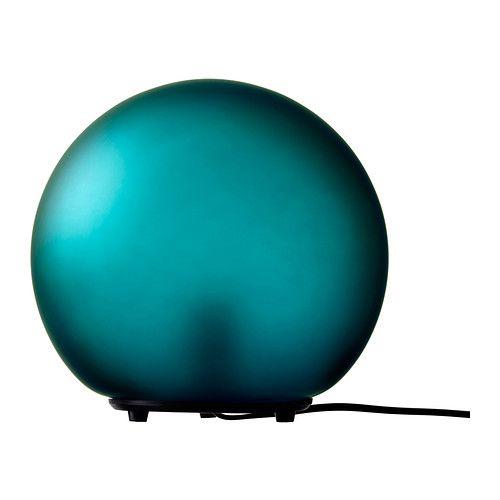 """$19.99 10""""DIA FADO Table lamp, turquoise"""