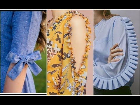 add73d282b New sleeves designs for Pakistani girls dresses 2018 Latest sleeves des.