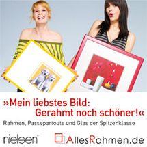 Mein liebstes Bild: Gerahmt noch schöner! Rahmen, Passepartouts und Glas der Spitzenklasse - Nielsen Bilderrahmen von Allesrahmen.de