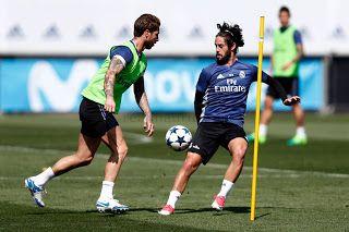Sesion de entrenamiento con el Atlético en la mira