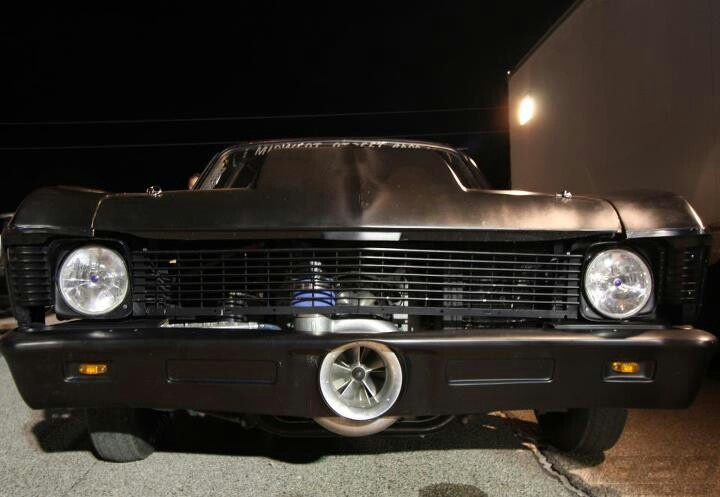 Murder Nova my cousin Shawn's car. He has a show on discovery Chanel on Mondays 10/9c called street outlaws!