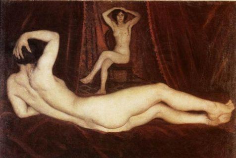 Karoly Ferenczy: Gypsy girl