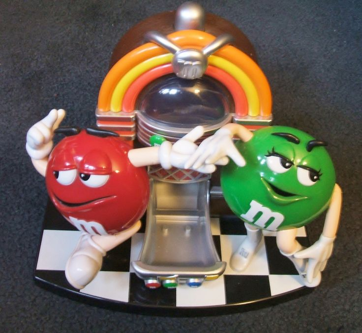 1999 M Jukebox Candy Dispenser and Bank ~ $22.00