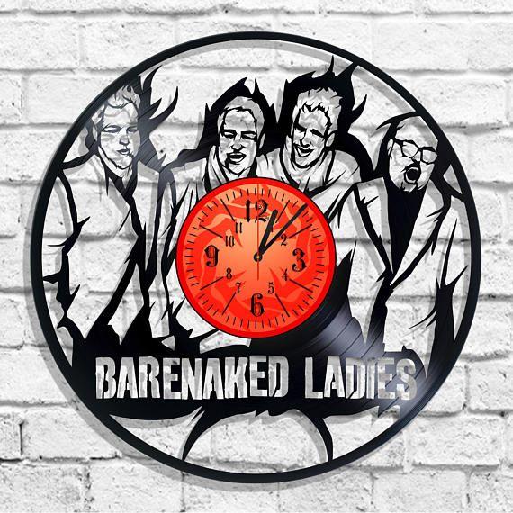 Barenaked Ladies rock band design wall clock Barenaked Ladies