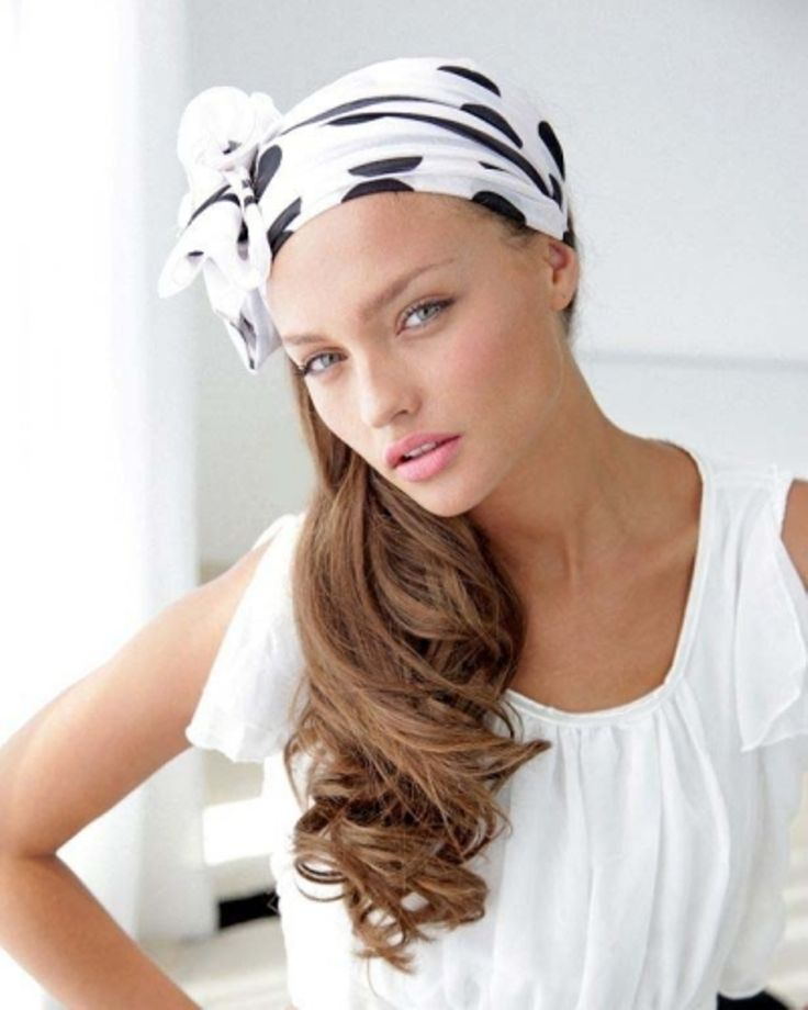 Как красиво завязывать шарф или платок на голове? . Фото и ...