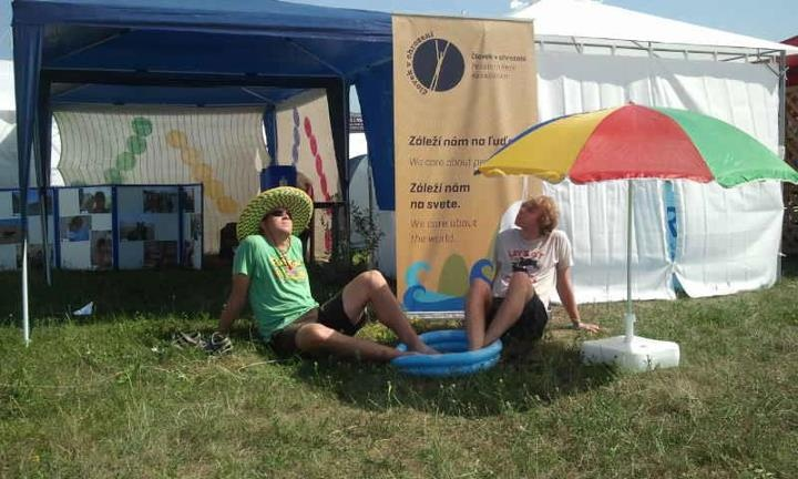 Na festivale Pohoda 2012 bolo naozaj horúco