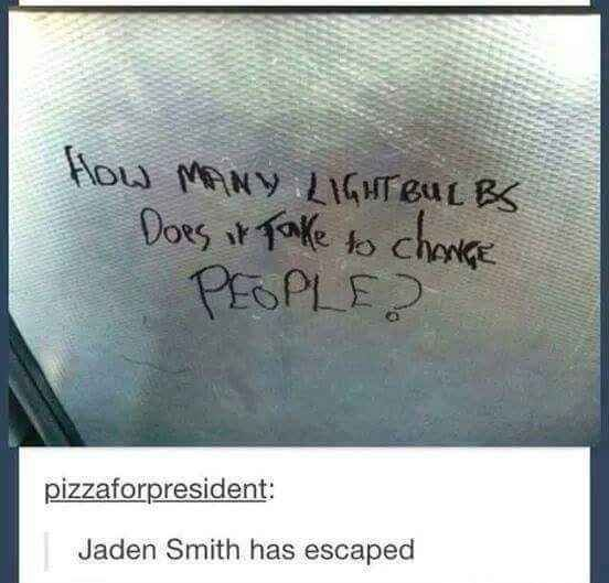Jaden Smith in the real world: | 32 of the Greatest Things That Happened on Tumblr in 2015