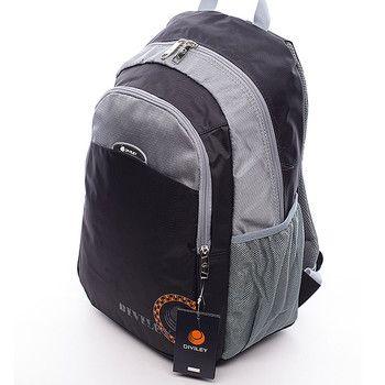 #batoh #Diviley  Batoh má vyztužená záda, nastavitelné polstrované popruhy, několik kapes a postranní síťky na láhve s pitím. Dopřejte si kvalitní a pohodlný batoh nejen pro vaše tůry.