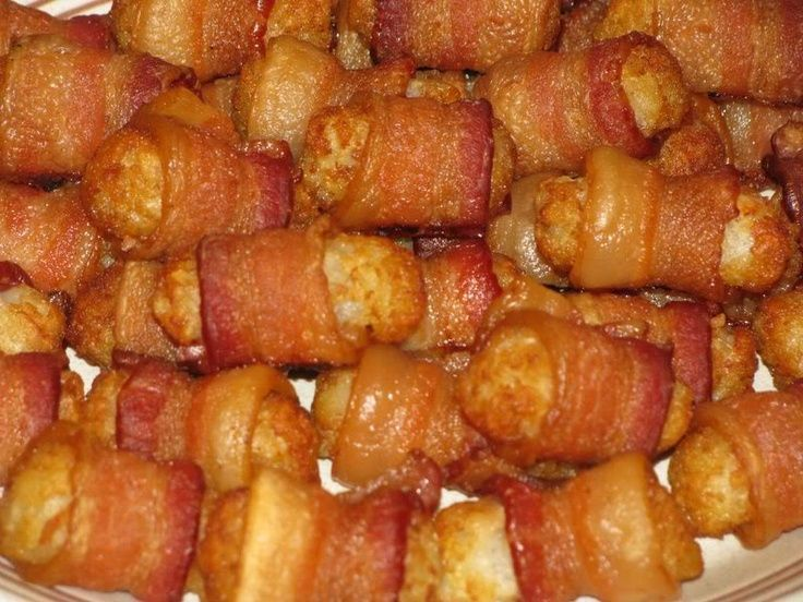 man vs food bacon wrapped tater tots recipe - Bing Images
