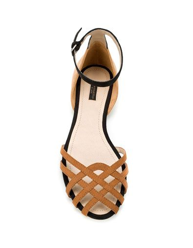 Zara $50 #JellyShoesFlats
