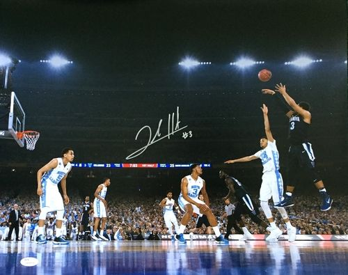 Josh Hart Signed Villanova 2016 National Championship Game 16x20 Photo JSA