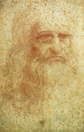 Testa di uomo barbuto - Leonardo - Opere d'Arte su Tela - Listino prodotti - Digitalpix - Canvas - Art - Artist - Painting