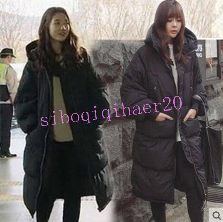 Womens Mens Cotton-Padded Coat Winter Warm Overcoat Parka Couples Jacket Parkas#